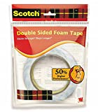 3M SCOTCH DOUBLE SIDED FOAM TAPE SIZE:-12MM X 3M, PACK OF 2