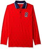 612 League Boys' Floral Regular Fit T-Shirt (ILW18I16013F-13-14YRS_Red_13-14YRS)