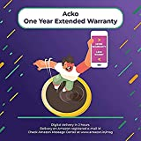 Acko 1 Year Extended Warranty for Washing Machine, Refrigerator, Dishwasher & Camera from Rs 30,000 to Rs 40,000 For B2B