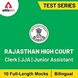 Adda247 - Rajasthan High Court Clerk, JJA and Junior Assistant 2020 Online Test Series (Email Delivery in 2 hours)