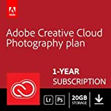 Adobe Creative Cloud Photography plan 20GB: Photoshop + Lightroom | 1 Year | PC/Mac | Download | Email Delivery within 24 hour