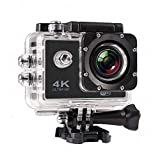 Airking 4K Ultra HD Water Resistant Sports Action Camera Wide-Angle Lens with 2 Inch Display Accessories (16 MP)