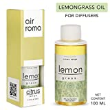 AirRoma Lemon Grass Aroma Diffuser Oil Pure, Natural & Undiluted (100ml)