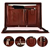 AmazingHind 2 Ring Document Bag, File Folders Handle Bag (Size: FS, No Leafs)