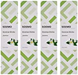 Amazon Brand - Solimo Incense Sticks, Jasmine - 70 sticks/pack (Pack of 4)