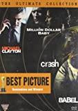 Best Picture's - Set -1 (Set of 4 DVDs- Michael Clayton/Million Dollar Baby/Crash/Babel)
