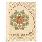 Bliss Cards Leaf Style -Multipurpose Invitation Card With Ganesha (Pack of 50)
