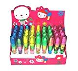 Brown Leaf® Best Gift Item Pen Type Eraser for Kids Party (Set of 12)