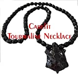Carefit Korean Tourmaline Beads Necklace for men & women with Anions