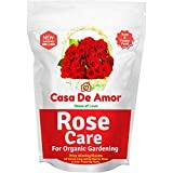 Casa De Amor Rose Care Special Organic Fertilizer for Rose Plants, Brown (900 Gram)