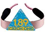 Catch One 1.89 Neoprene Eyeglass Band Strap Holder, Eyewear Retainer Cord String (Pink)