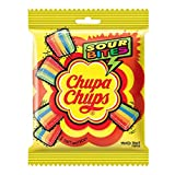 Chupa Chups Sour Bites Chewy Toffee, Mixed Fruit Flavour, 61.6g (30 Pieces)