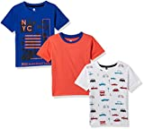 Cloth Theory Boys' Regular Fit T-Shirt (Combo Pack of 3)(CTKR 011_Multi_9-10 Years)