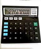 CLTHZEN CT-512ST GST Electronic Calculator (Black) Value Pack of- 2Pcs