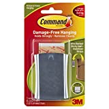 Command Jumbo Universal Metal Picture Hanger, Holds 3.6 kg, No Drilling, Holds Strong, No Wall Damage (1 Hanger, 4 Strips)