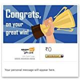 Congratulations (Great win) - Amazon Pay eGift Card