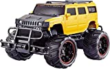 D&D Sale 1:20 Bay Big and Mean Rock Scale Modified Hummer Monster Truck (Yellow)