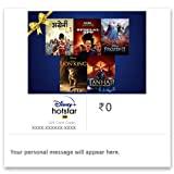 Disney+ Hotstar VIP Annual E-Gift Card