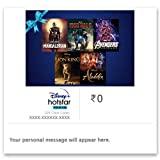 Disney+ Hotstar VIP Premium E-Gift Card