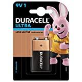 Duracell Ultra Alkaline 9V Battery, 1 Piece