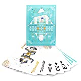 Edi Supplies Super Jumbo Playing Cards With Large Numbers Size 11.5 X 8.25 (Baby Blue)