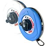 ELYSIAN Freemans Fiberglass Hi-Plastika 50 m Measuring Tape (Blue)