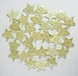 eshoppee Pack of 30 pcs Star Shape Buttons Beads for Art and Craft Making Materials DIY kit
