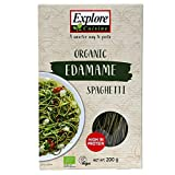Explore Cuisine Organic Edamame Spaghetti - 200 g - Gluten Free Pasta, High Protein Pasta, Easy to Make - USDA Certified Organic, Vegan, Kosher, Non GMO