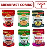 Express Feast Breakfast Combo, (Combo of 6) | Intant Mix, Ready to eat | No preservatives