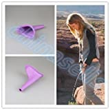 Generic 1pcs Price : 1pcs Lady Women Urinal Travel kit Outdoor Camping Soft Silicone Urination Device Stand up & Pee Female Urinal Toilet