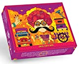 GO DESi Limited Edition Bespoke Handmade Gift Box - Contains Imli Pop, Amla Bites, Olive Candy, Lemon Chaat, 481 g