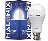 Halonix Inverter LED Bulb B22 9-Watt - White