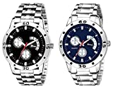 HORIZON Analog Multi-Colour Collection of 2 Analogue Wrist Watches for Men and Boys (HORIZON104207)