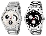 HORIZON Analog Multi-Colour Collection of 2 Analogue Wrist Watches for Men and Boys (HORIZON104590)