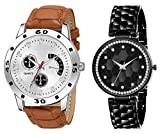 HORIZON Analog Multi-Colour Collection of 2 Analogue Wrist Watches for Men and Women (HORIZON101054)