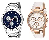HORIZON Analog Multi-Colour Collection of 2 Analogue Wrist Watches for Men and Women (HORIZON101543)