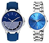HORIZON Analog Multi-Colour Collection of 2 Analogue Wrist Watches for Men and Women (HORIZON103568)