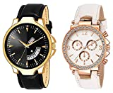 HORIZON Analog Multi-Colour Collection of 2 Analogue Wrist Watches for Men and Women (HORIZON104027)