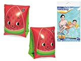 IndusBay Kids Swimming Armbands-Inflatable Dolphin Themed armtubes for 3 to 8 Year Kids - by Bestway 32042