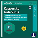 Kaspersky Anti-Virus 2020 Latest Version - 1 PC, 1 Year (Email Delivery in 2 hours- No CD)