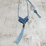 KCB Handwoven Macrame Necklace