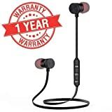 LIMESHOT Bluetooth Earphone Wireless Headphones Sports Stereo Music Jogger,Running, Gym Bluetooth Headset for All Smartphones