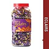 MAHAK Eclairs Candies jar / 200 Candies / Toffee / Milk and Choco Blast (eclairs jar)