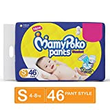 MamyPoko Pants Standard Diapers, Small (Pack of 46)