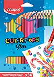 Maped Color'Peps Color Pencil Set - Pack of 36 (Multicolor)
