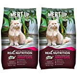 Meat Up Adult(+1 year) Dry Cat Food, Ocean Fish, 1.2kg ( BUY 1 GET 1 FREE)