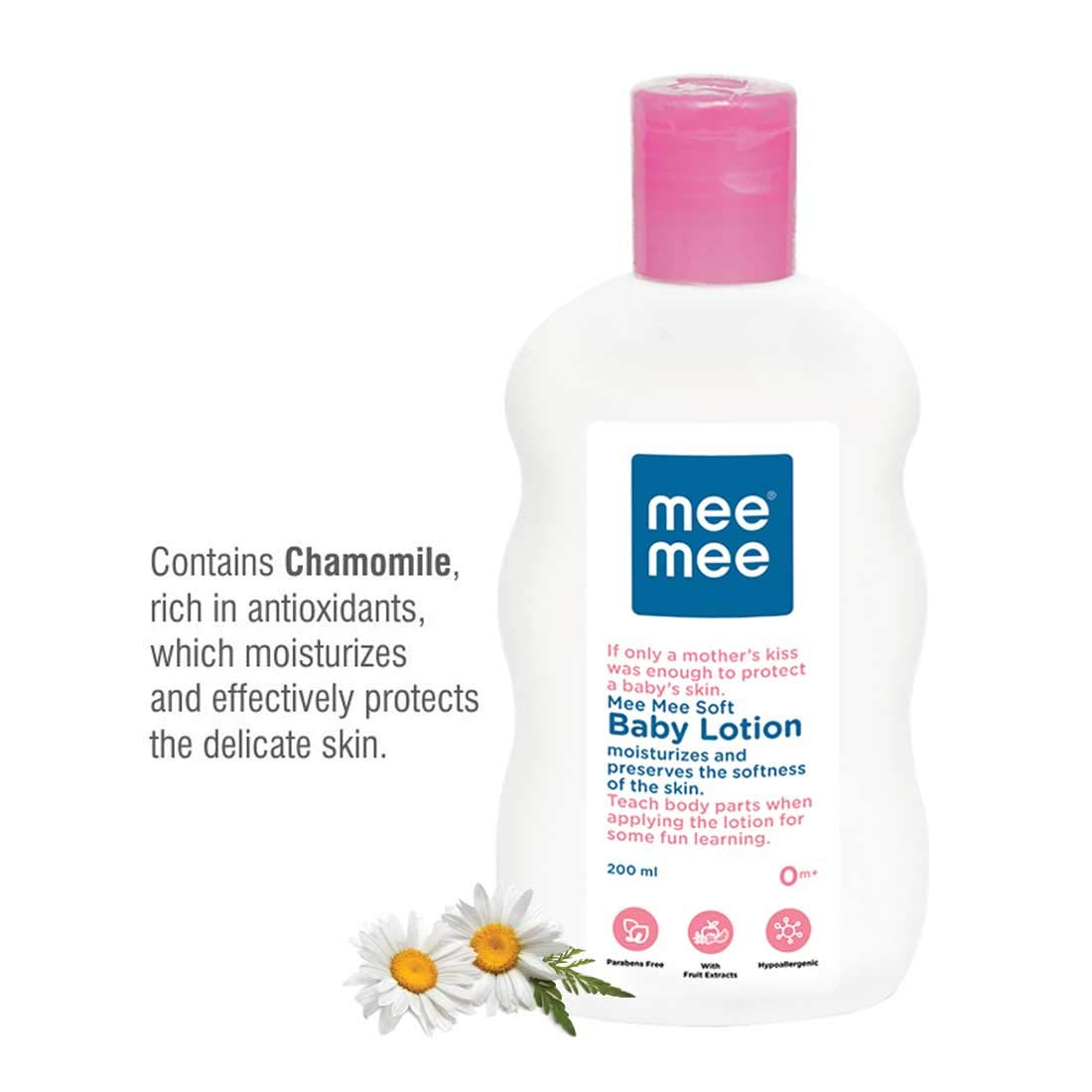 Mee Mee Baby Lotion (With Fruit Extracts- 200 ml (Single Pack))