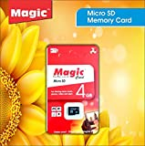 MEGIC 4GB Class 10 HIGH Speed MicroSDXC Memory Card