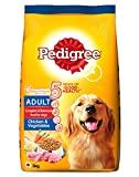 Pedigree Adult Dry Dog Food, Chicken & Vegetables, 3kg Pack
