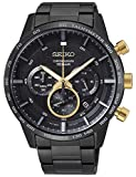 Seiko Analog Black Dial Men's Watch-SSB363P1